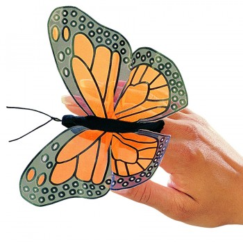 Folkmanis Fingerpuppe Monarch Schmetterling 2156