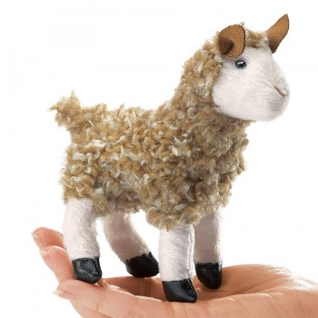 Folkmanis Fingerpuppe Mini Alpaca 2750