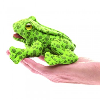 Folkmanis Fingerpuppe mini Frosch, 2761