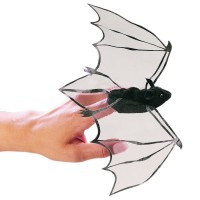 Folkmanis Fingerpuppe mini Fledermaus 2612