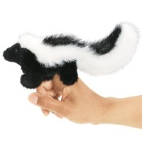 Folkmanis Fingerpuppe mini Stinktier 2647