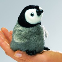 Folkmanis Fingerpuppe Vogel, mini Kaiserpinguin 2680