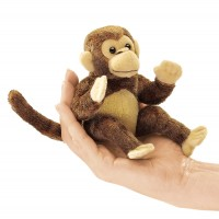 Folkmanis Fingerpuppe mini Affe 2738