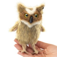 Folkmanis Fingerpuppe Vogel, Mini Uhu 2752