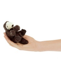 Folkmanis Fingerpuppe mini Seeotter 2766