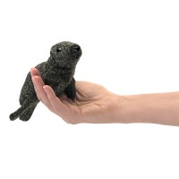 Folkmanis Fingerpuppe Mini Robbe 2774