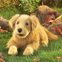 Folkmanis Handpuppe Hund Golden Retriever 2998
