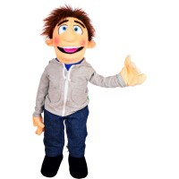 Living Puppets Handpuppe Mr. Sunday  70 cm W759