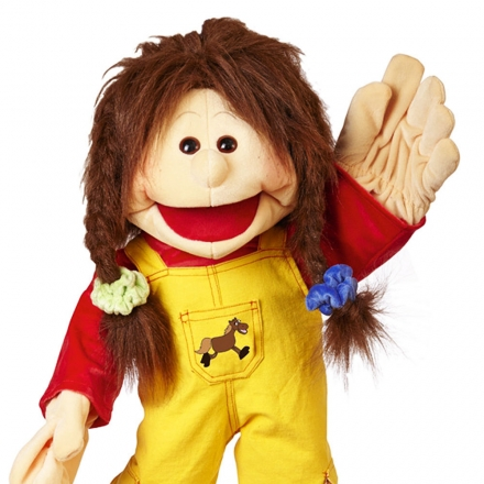 Living Puppets Handpuppe Zwilling Lou 65 cm W661